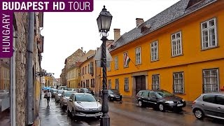 Budapest HD Video Tour on Rainy Day - Hungary