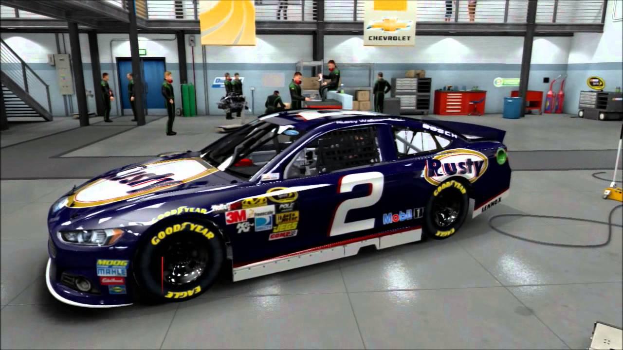 Nascar 14 Paint Booth NASCAR 14 2002 cars paint