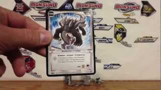 Wave 3 Monsuno Toy Opening - #35 Shadow Poisonwing and #37 Shadow Hydro