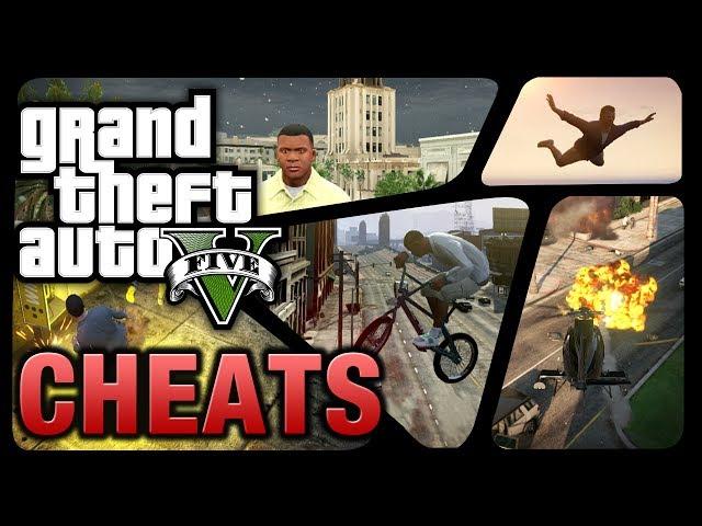 GTA 5 - Cheats (Full Cheat Codes List)