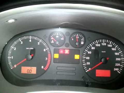 Testigo precalentamiento motor diesel renault