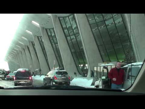 Washington Dulles Airport. 2009 Snow Storm