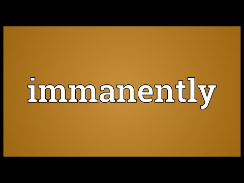 Header of immanently