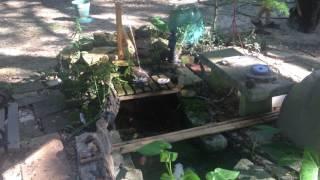 Shishi Odoshi Fountain (bamboo knocker fountain)