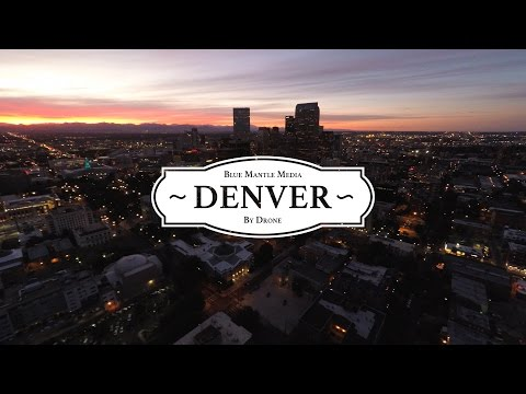 Denver by Drone in 4K