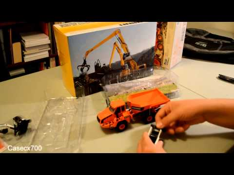 Unboxing Doosan, Bobcat and Liebherr Models from Conexpo 2014