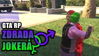 GTA RP | ZDRADA JOKERA | Funny Moments
