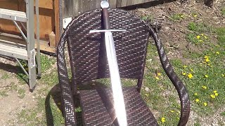 Blacksmithing - Forging My First Sword - Highight Video