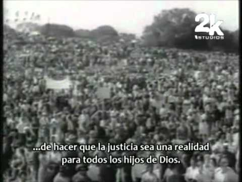 Martin Luther King Jr. - I Have A Dream (subtitulado español) [Parte 1/2]