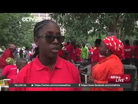 Nigeria's Missing Chibok Girls: Marches Held To Mark A Year Since The Kidnappings