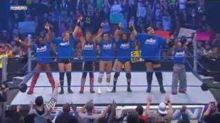 Team RAW vs Team Smackdown (and some Finishers)