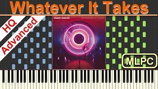 Download Lagu Imagine Dragons - Whatever It Takes I Piano Tutorial & Sheets by MLPC Gratis STAFABAND