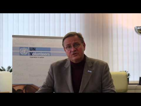 Briefing on the new COS for international UN Volunteers