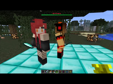 Minecraft | Ore Spawn Mod Review:CHICAS EN BIKINI Y EL KRAKEN!! xD