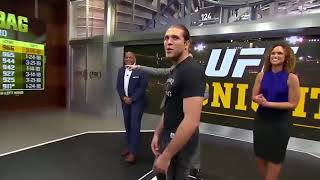 ufc fighters and the punching machine