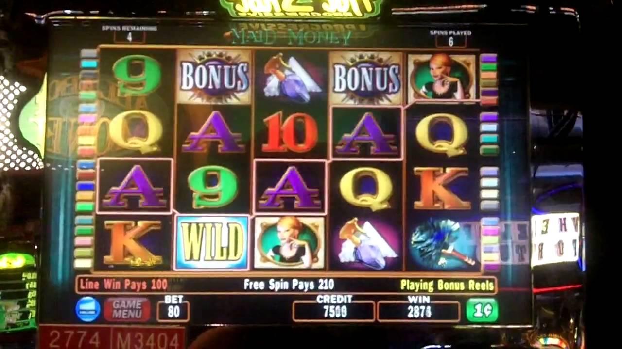 Maid Of Money Slot Bonus IGT YouTube