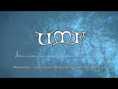 Madonna - Girls Gone Wild (benny Benassi Remix) Miami Ultra Music Festival 2012 video