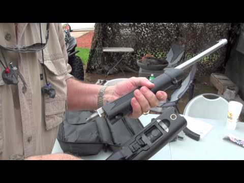 Ruger 10/22 Takedown Rifle Shooting