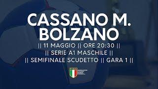 Serie A1M [Semifinale G1]: Cassano Magnago - Bolzano 24-23