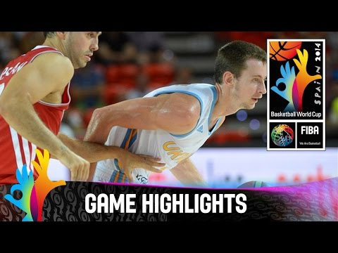 Ukraine v Turkey - Game Highlights - Group C - 2014 FIBA Basketball World Cup