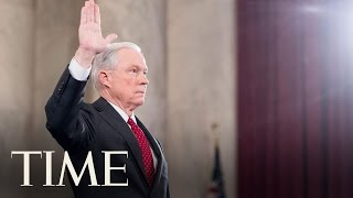 Senate Committee Holds Hearings On Donald Trump's Attorney General Pick Jeff Sessions | TIME