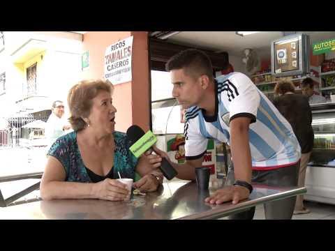 Detrás del Juego en la Copa - COL  ARGENTINA