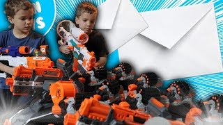 Nerf War:  Mail Time Mayhem 27