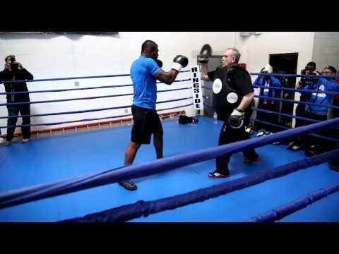 01/22/2013 - Rampage Jackson Training in the Reebok ATV19+ Image 1