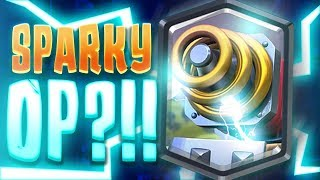 BEST SPARKY DECK EVER!? HE CAN'T LOSE w/ SPARKY BEATDOWN!