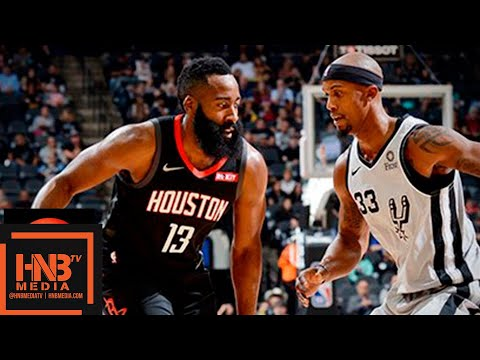 Houston Rockets vs San Antonio Spurs Full Game Highlights | 11.30.2018, NBA Season