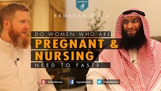 Do Women who are Pregnant & Nursing Need to Fast? | Ramadan Q & A | John Fontain & Ahmed Al-Rumh