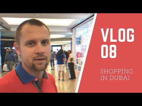 SHOPPING IN DUBAI Reise Vlog 08 german