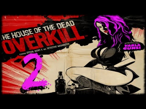 House Of The Dead Overkill Lets Play Episode 2 - Shootout At The Pink Pussy Cat video