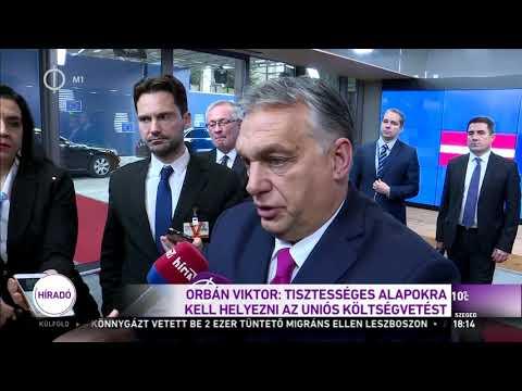 2020.02.03. - Orbán Viktor Brüsszelben tárgyalt