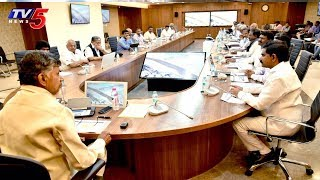 AP CM Chandrababu Naidu Virtual Review On Polavaram Project Works