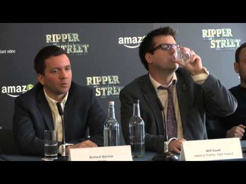 Ripper Street - Press conference report
