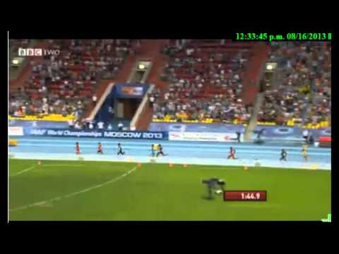 Moscow 4x400 Final - Men - IAAF World Championships