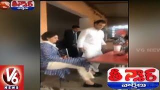Rahul and Priyanka Gandhi Variety Election Campaign In Uttar Pradesh   Teenmaar News