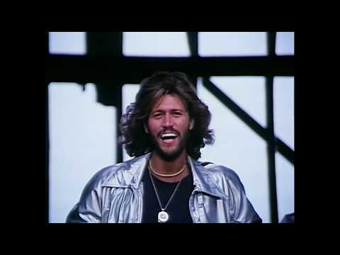 Bee Gees - Stayin' Alive [Version 1] (Video)