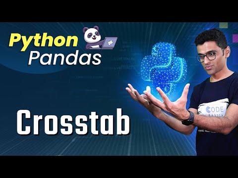 Python Pandas Tutorial 13. Crosstab