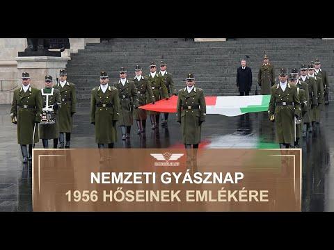 Nemzeti gyásznap 1956 hőseinek emlékére