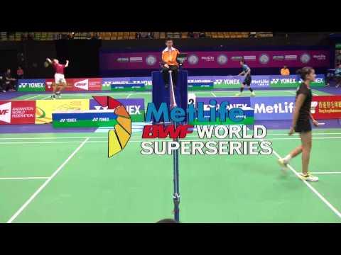 Yonex-sunrise Hong Kong Open 2014 - Qf - Match 5 video
