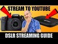 How to Stream a HDMI DSLR/Video Camera to YouTube in 1080p