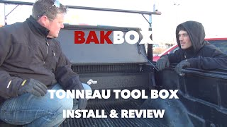 Bak Industries BAKBox Tonneau Tool Box Install & Review