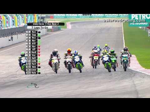 Round 1 Sepang - Underbone 115cc Race 2 (Full) - PETRONAS Asia Road Racing Championship