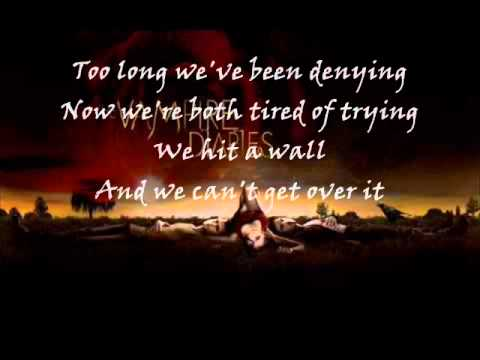 Lifehouse - it is what it is (lyrics on screen) [vampire diaries S01]