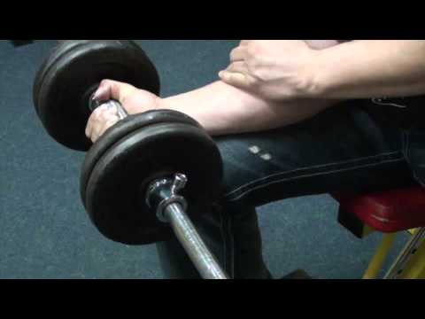 Trening of Armwrestling - 51#  wrist