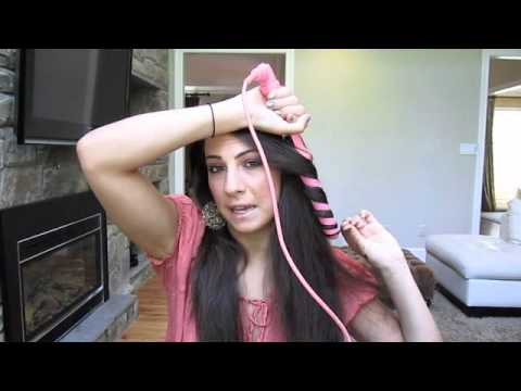 Summer Loose Curls Hair Tutorial!