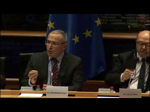 Mikhail Khodorkovsky Addresses European Parliament 2 Dec 2014