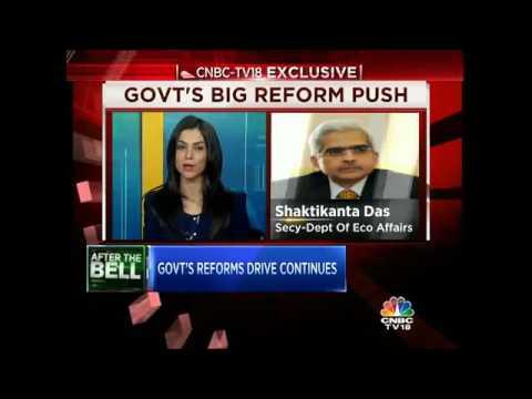 CNBC-TV18 Exclusive: Govt's Reform Drive Continues